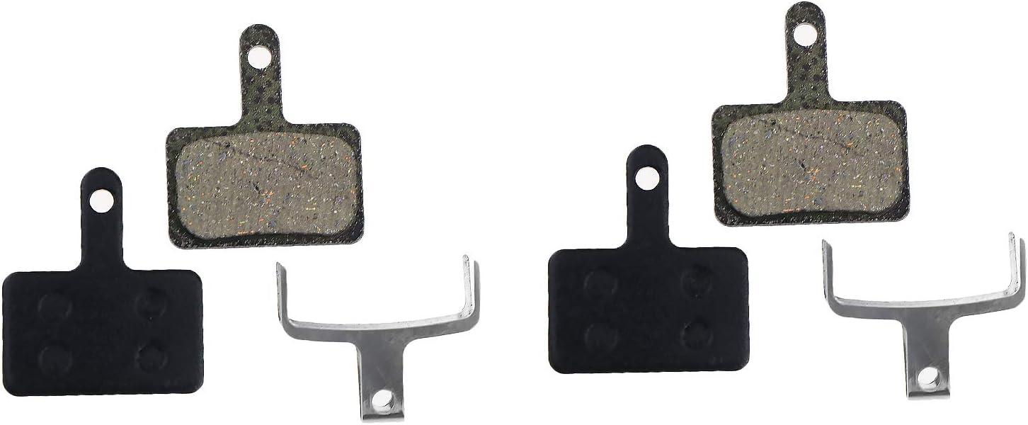 2x Bremsbel/äge Bremsbelagsatz f/ür Shimano BR-M575 BR-M525 BR-M506 BR-M505 BR-M495 BR-M486 BR-M485 BR-M475 BR-M465 BR-M447 BR-M446 BR-M445 BR-M416
