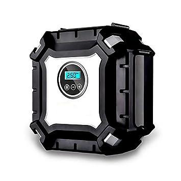 HomeYoo Compresor Portátil, Compresor de Aire Portátil Coche, Digital Inflador Eléctrico Automático para Neumáticos