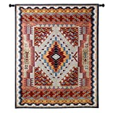 Fine Art Tapestries ''Southwest Salmon'' Wall Tapestry, Large