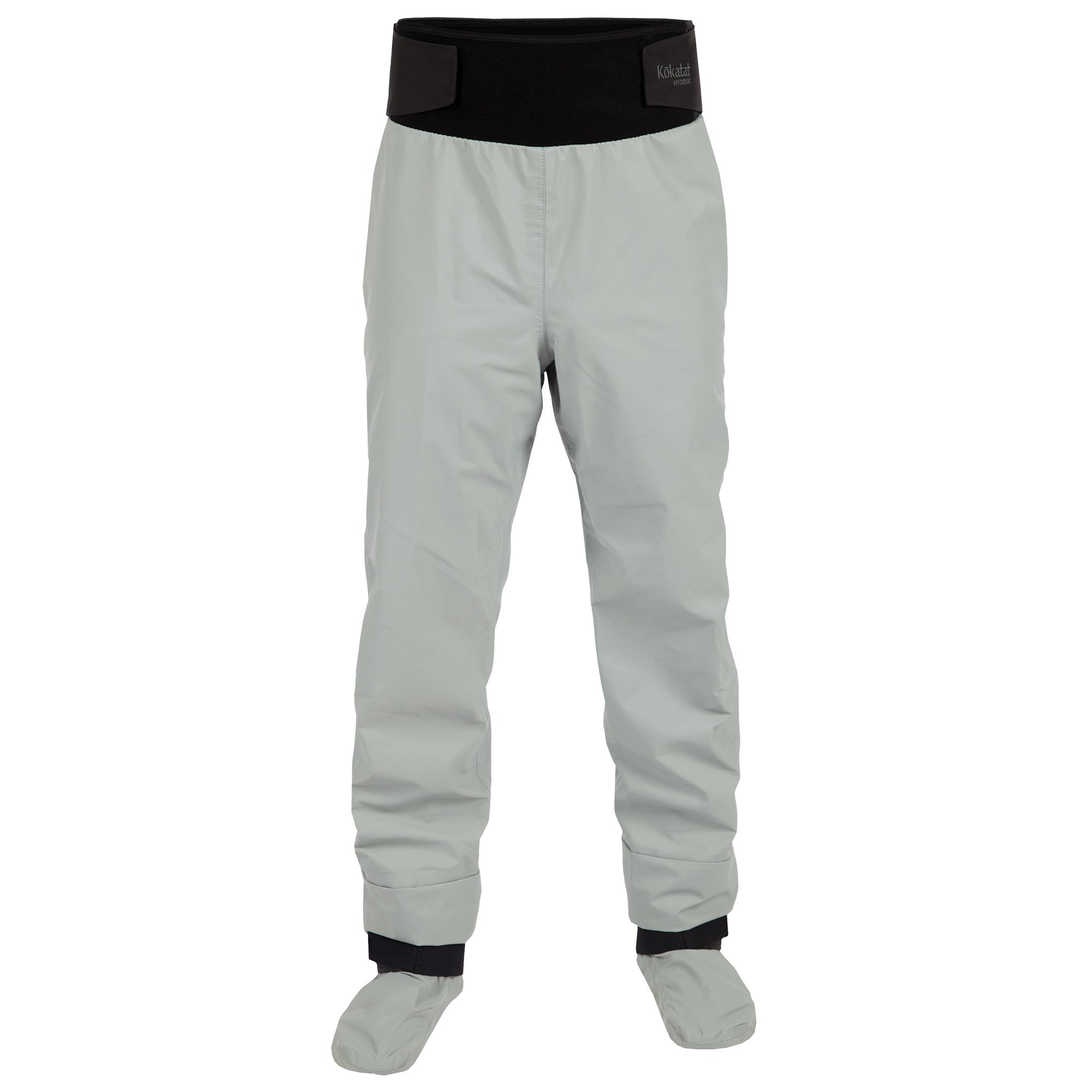 Kokatat Men's Hydrus Tempest Pants w/Socks-LightGray-XL by Kokatat