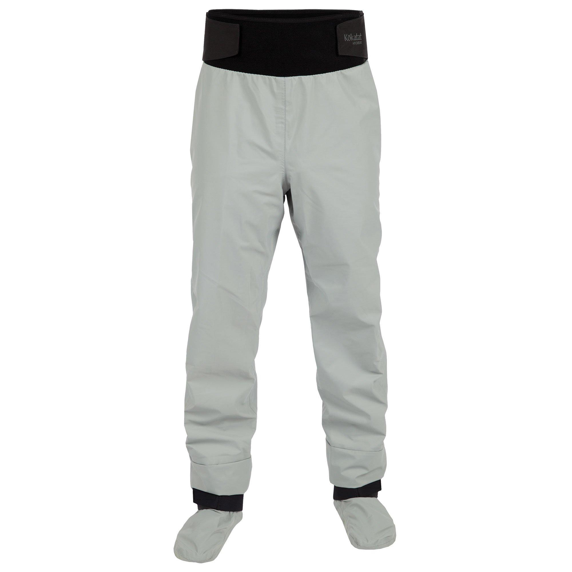 Kokatat Men's Hydrus Tempest Pants w/Socks-LightGray-S