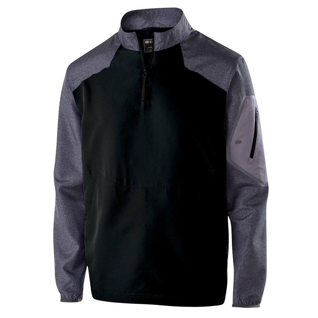 Holloway Youth Raider Pullover (Large, Carbon Print/Black) by Holloway