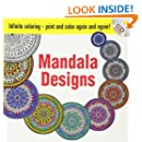 Infinite Coloring Mandala Designs CD and Book (Dover Design Coloring Books)