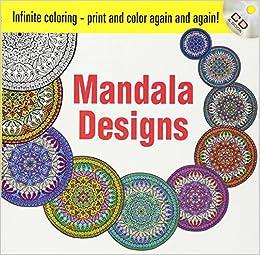 Infinite Coloring Mandala Designs CD And Book Dover Design Books Martha Bartfeld Alberta Hutchinson 0800759469499 Amazon