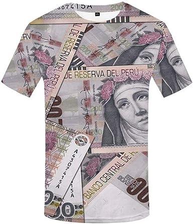 GKD Playera para Hombre Mexicana Peso Camisetas Casual México Camiseta Impresa Harajuku Anime Ropa Vintage Camisa Estampado X2481 4XL: Amazon.es: Ropa y accesorios