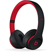 BEATS MRQC2PA/A Solo3 Wireless Headphones, Black Red