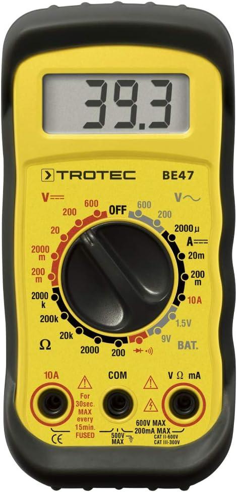 TROTEC Mult/ímetro BE47