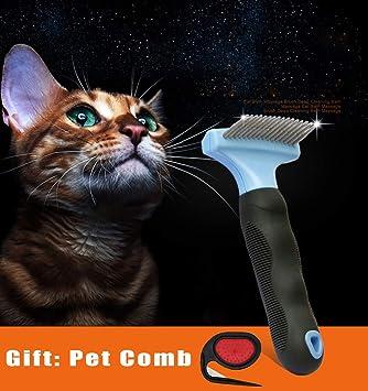 XXL Cepillo para Perros y Gatos, Peine Rascador Quitapelos para ...