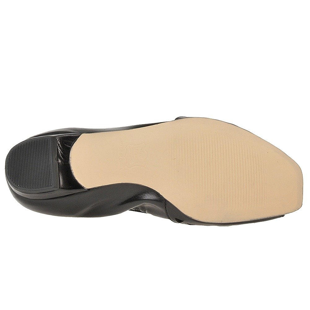 Women's ROS Hommerson, B007D1S5NI Mercy Slip on Flat B007D1S5NI Hommerson, 8 4A US|Black ad2442