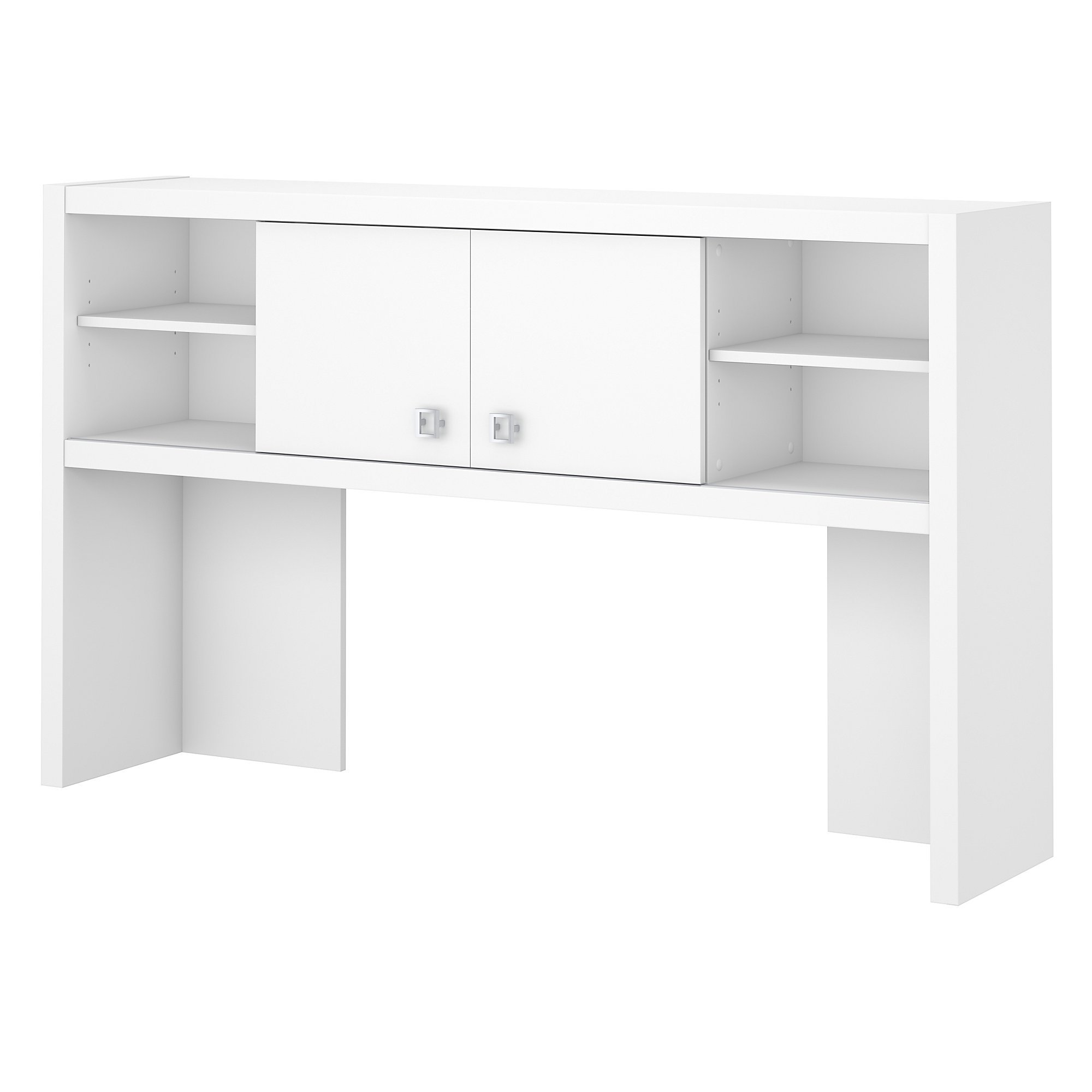 Office by kathy ireland Echo 60W Hutch in Pure White by Office by kathy ireland
