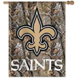 NFL New Orleans Saints Camo 27 x 37 Inch Flag