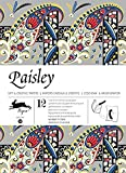 Paisley : Gift and creative paper book Vol.38 (English, Spanish, French and German Edition)