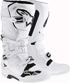 9 Alpinestars Tech 7 Mens Black//White//Red Motocross Boots