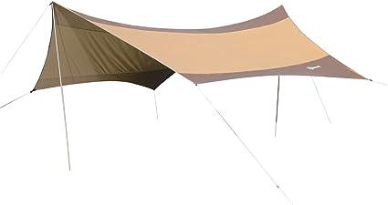 Outsunny Toldo de Refugio Impermeable Portátil Carpa Tienda de Campaña Grande para Camping Playa Pesca Picnic Protección Solar