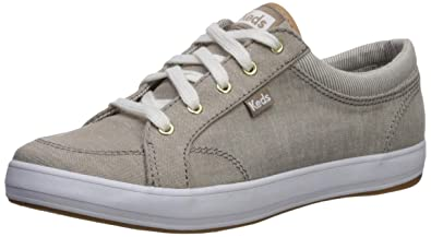 d50092e2823a Keds Women's Center Sneaker, Taupe Chambray/Distressed Nautical Stripe, ...