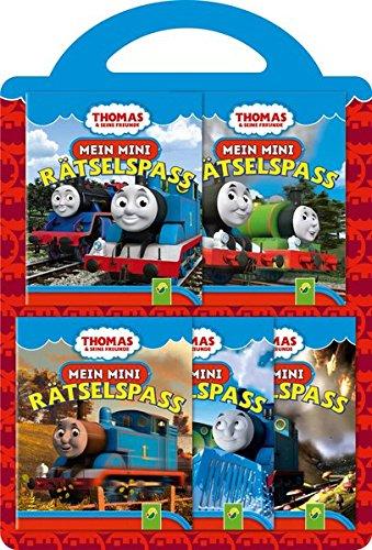 Thomas & seine Freunde - Mein Mini-Rätselspaß: 5 Minibücher
