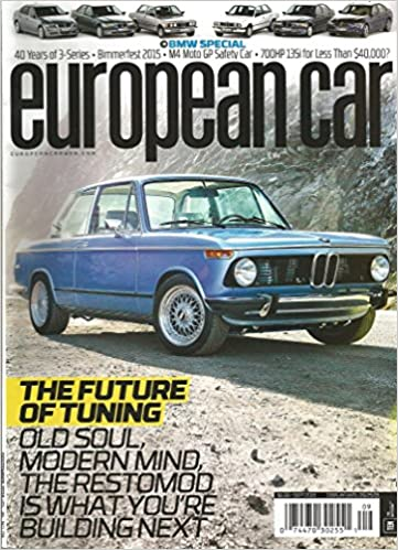 European Car Magazine Bmw Special September 2015 Various Amazon