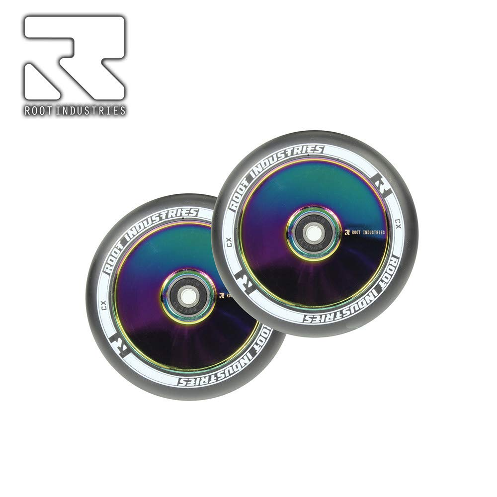 Root Industries Air 110 mm Wheel Black//neochrome