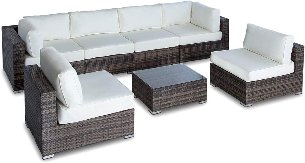 Vilano 7 Piece Sectional - Gold