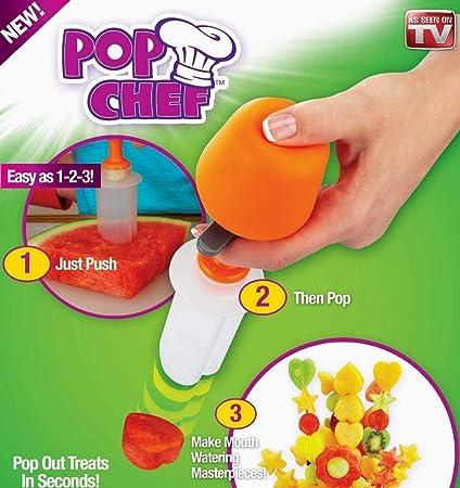 Pop Chef Just Push Pop Y Crear Pop cocinero cortador de fruta ...