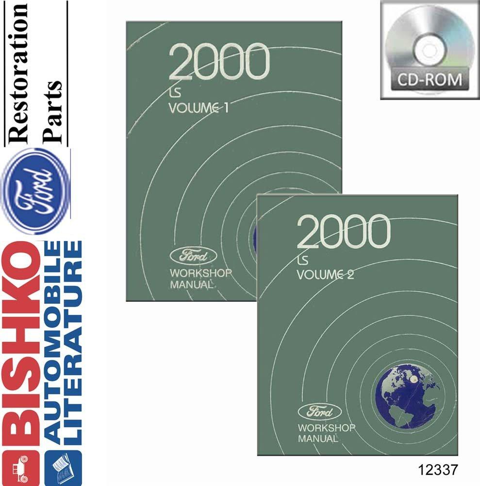 Amazon.com: bishko automotive literature 2000 Lincoln LS Shop Service  Repair Manual CD Engine Drivetrain OEM: Automotive