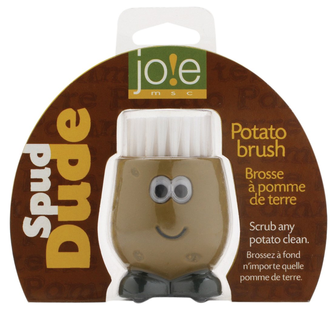 Joie Spud Dude Classic Brush Carded, Brown, A MSC International 50753