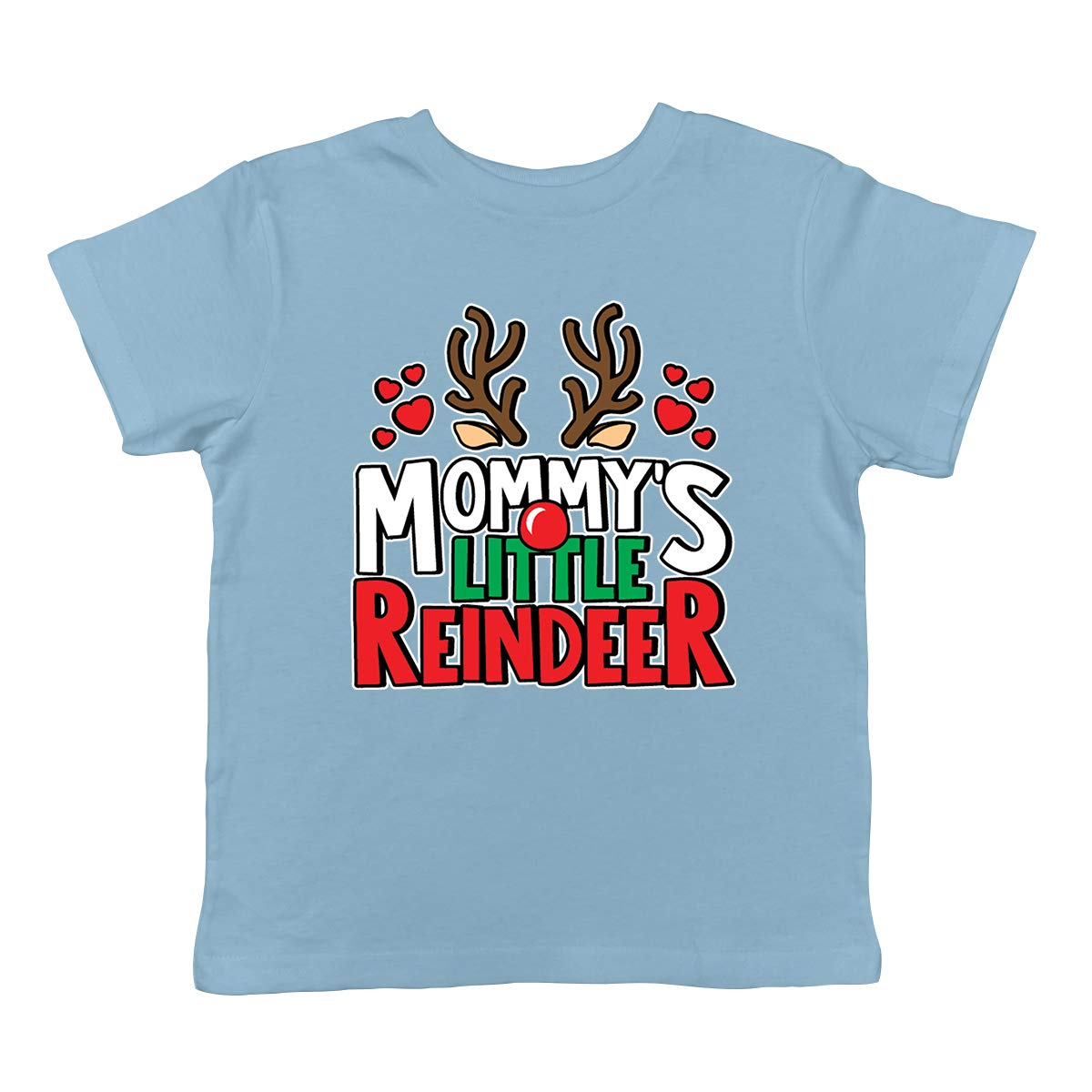 SpiritForged Apparel Mommys Little Reindeer Infant T-Shirt