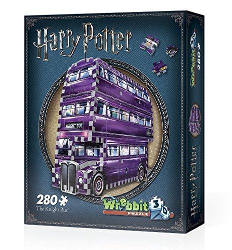 Wrebbit 3D Knight Bus Jigsaw Puzzle  280 Piece