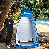 WolfWise Pop-up Shower Tent (Update D door)