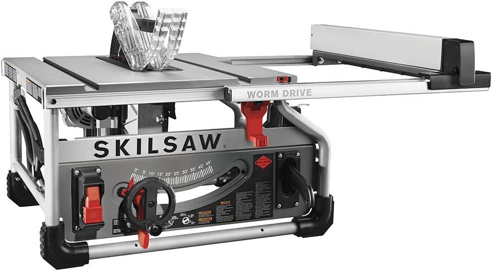 6. Skilsaw SPT70WT-01 Worm Drive Table Saw