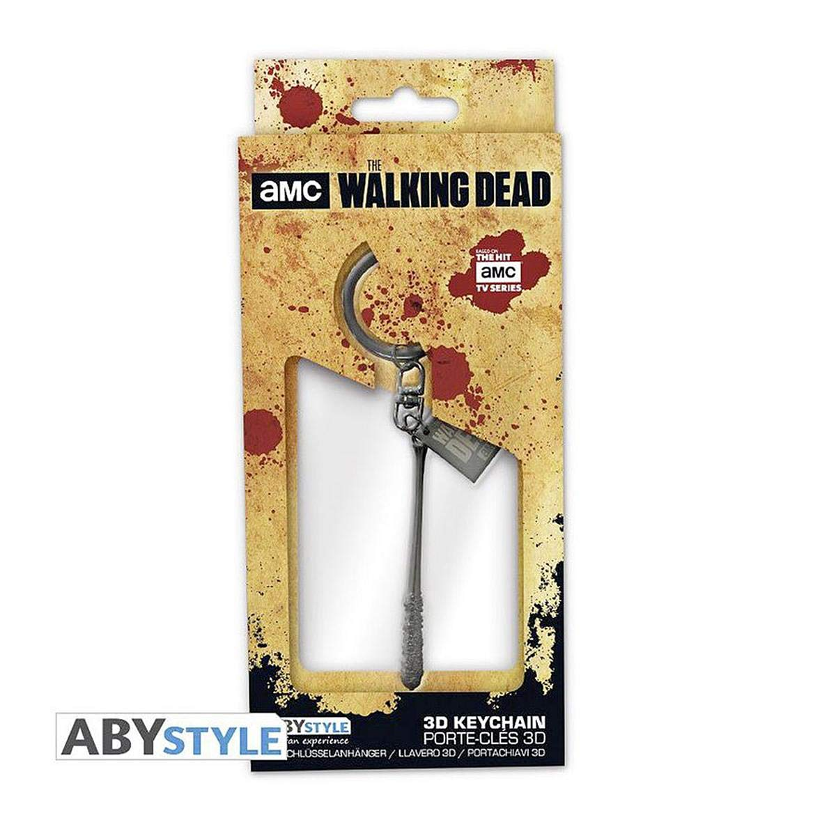 Llavero 3D de Metal The Walking Dead - Negans Bat: Amazon ...