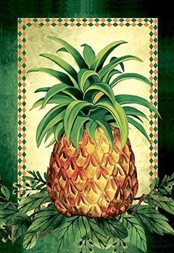 tropical pineapple double sided summer