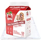 """Dog Training Pads- Maximum-Absorption Puppy Pads w/Insta-Dry Technology offer Low Price, & No Tracking. Save Money & Frustration with Leak-Resistant Pads from California Pet Supply - 23.6"""" x 23.6"""""""