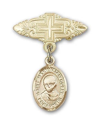 Icecarats Designer Jewelry Gold Filled St Maximilian Kolbe Charm