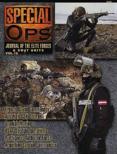 Concord Publications Special Ops Journal #16 French Naval Commandos Austria's GEK Cobra Spanish Marines USAF Special Operations Portuguese Airborne Force Argentine Special Commandos