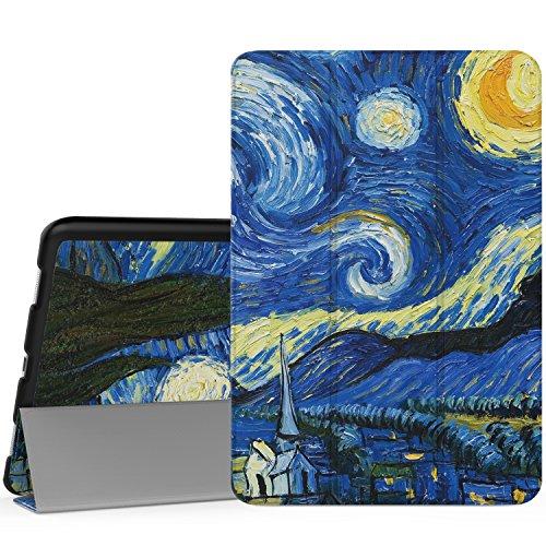 MoKo ASUS ZenPad 3S 10 Z500M Case - Slim Lightweight Smart Shell Stand Cover for ASUS ZenPad 3S 10 Z500M 9.7-Inch Tablet 2016 Release (NOT FIT Model# Z500KL), Starry Night