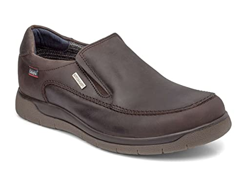 Callaghan 10801 Wagon - Zapatos mocasines de hombre, marrón (43)