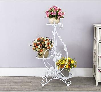 Amazonde Eisen Blumenstnder Multi