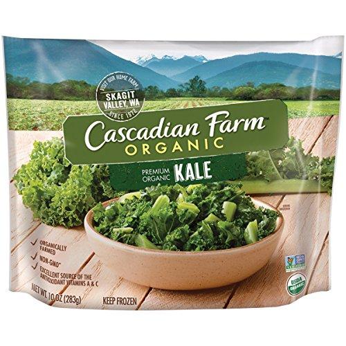 (Cascadian Farm Organic Kale, 10oz Bag (Frozen), Organically Farmed Frozen Vegetables, Non-GMO )