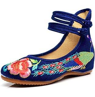 Zapatos azules vintage Lazutom para mujer