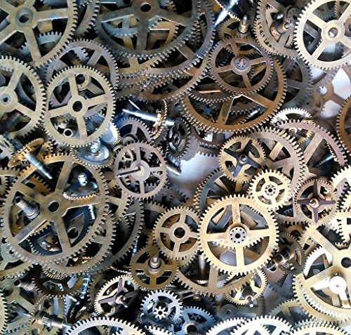steampunk-clock-movement-gears-400g-vintage-industrial-large-gears-size-62-mm-rustic-home-decor-cloc