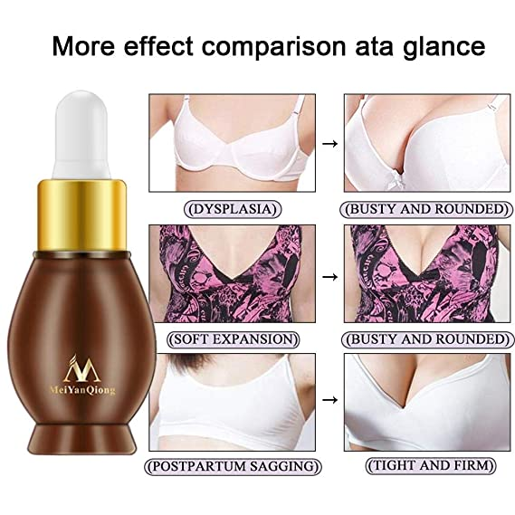 Aceite para aumento de senos - Crema reafirmante, reafirmante y lifting natural de senos: Amazon.es: Belleza