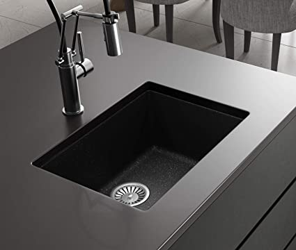 Black Kitchen Sink Lavello Performa 100LU 22\