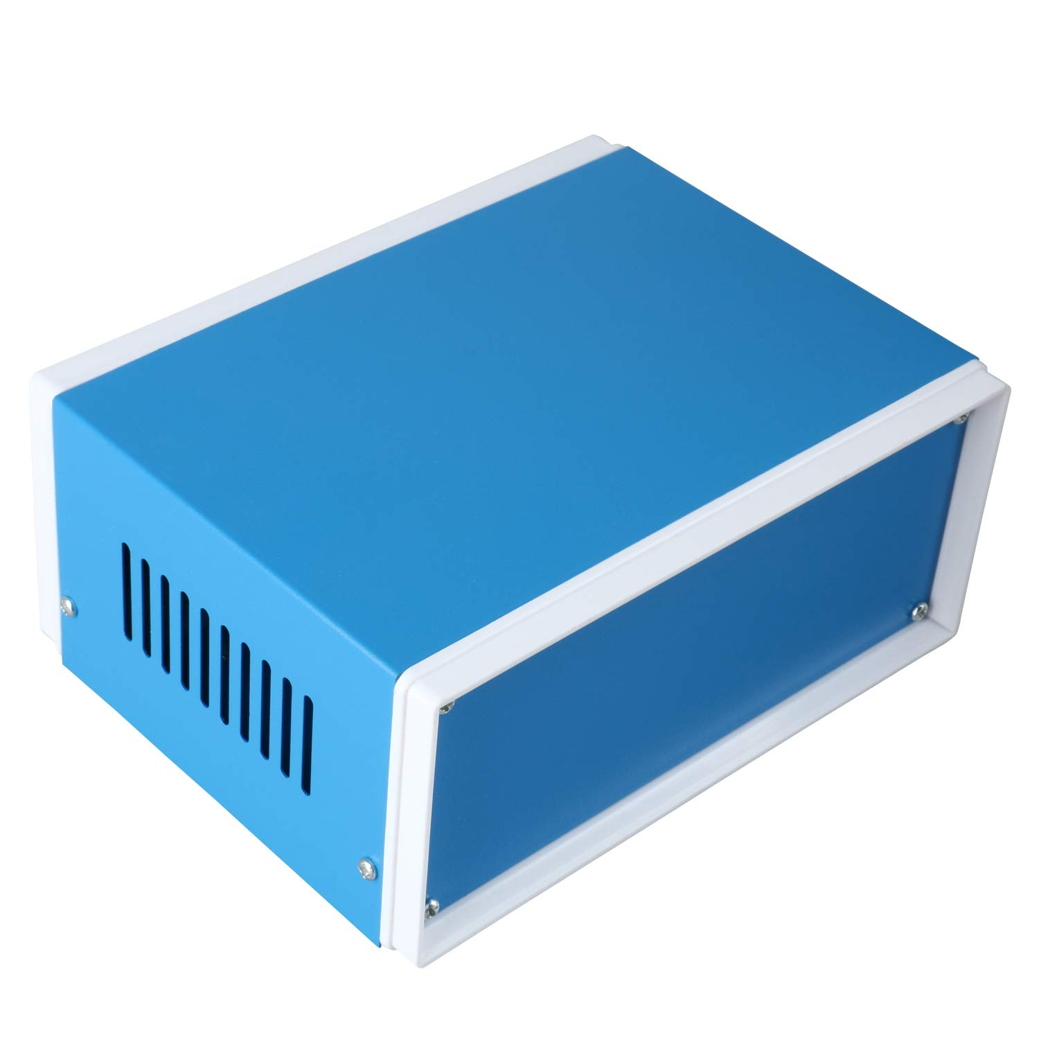 YaeCCC 170mmx130mmx80mm Rectangle Project Enclosure Case Electric Junction Box Blue