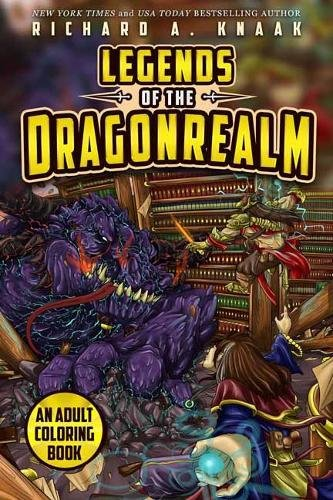 Legends of the Dragonrealm: An Adult Coloring Book