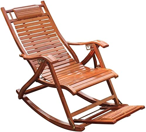 Chaise Longue Inclinable Rocking Chair Lounge Chair, Pédale