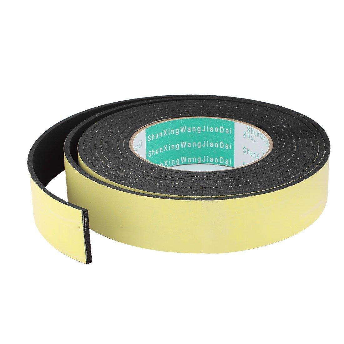 4M 30mm x 3mm Single Side Adhesive Foam Sealing Tape for Door Window DealMux DLM-B015LLQ9RA