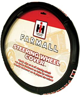 Amazon.com: IH Farmall Leather Strap Key Chain Black: Automotive