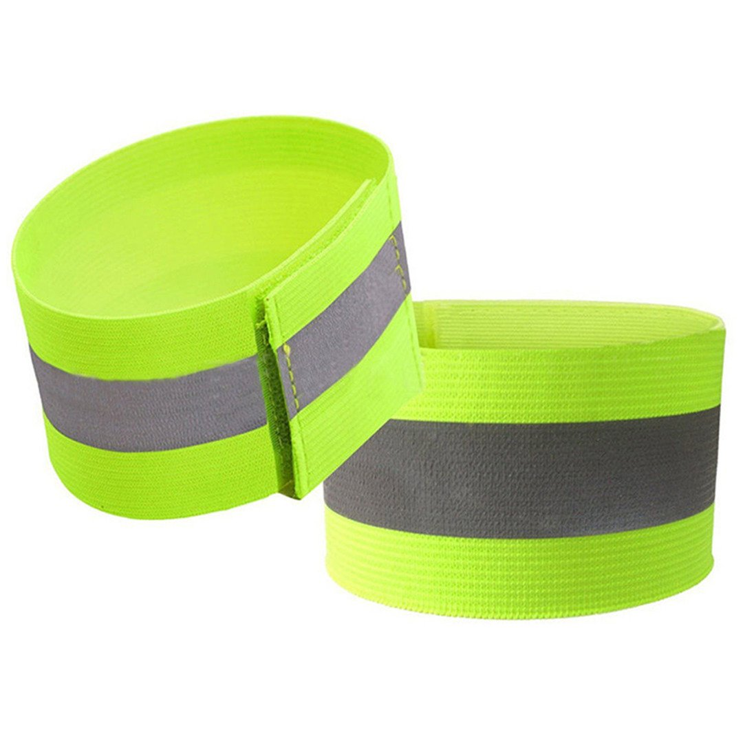 Black ltd Road ID High Visibility Runners Belt For Adult /& Child Road ID High Visibility Runners Belt For Adult /& Child Reflective Vest With Wrist Strap2,Unisex Reflective Running Belt Outdoor Dog-Walking Car Safety MLCASTLE 3PCS//SET