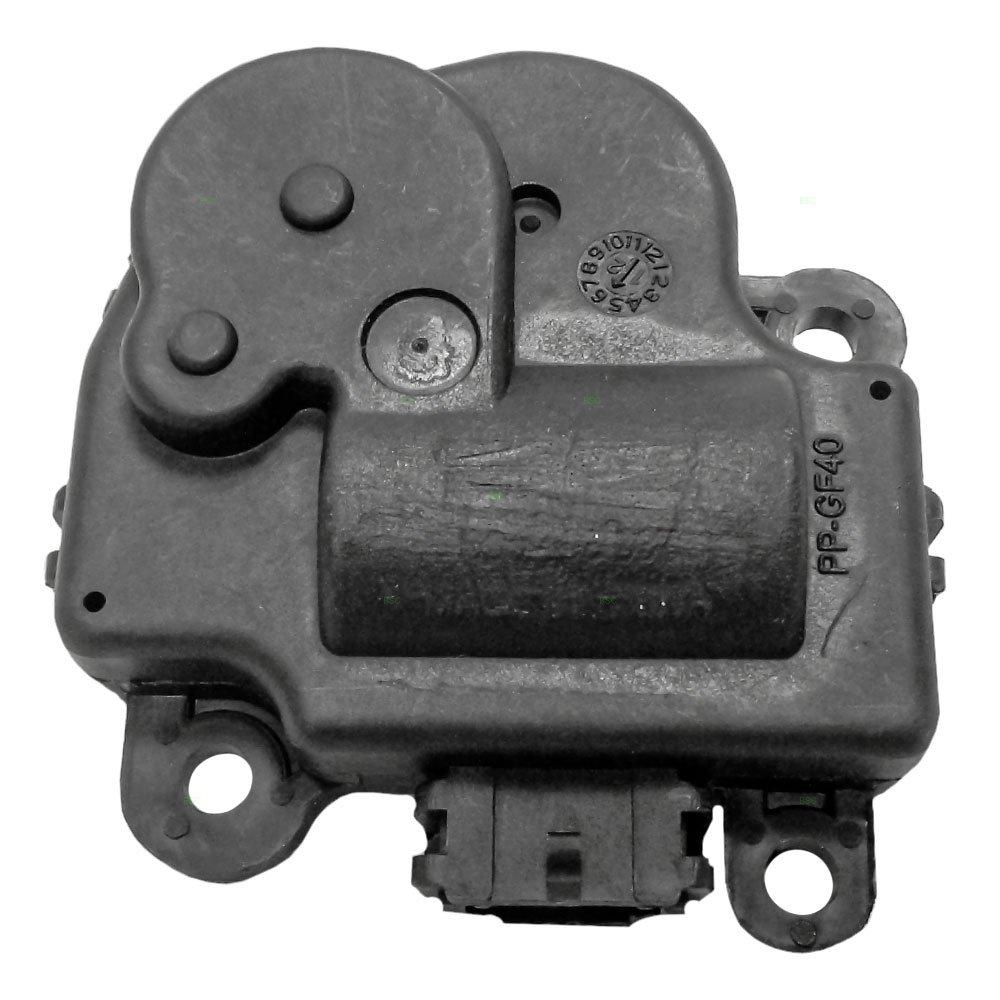 HVAC Heater A/C Blend Temperature & Air Inlet Door Actuator Replacement for Buick Cadillac Chevrolet Pontiac 22754988